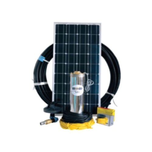 Solar borehole pump