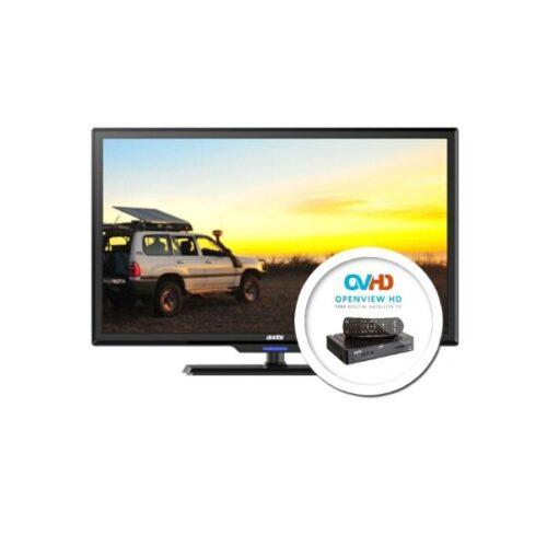 12 Volt Solar TV Kit