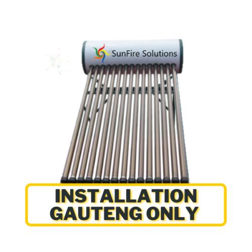 Geyser & Installation Gauteng only